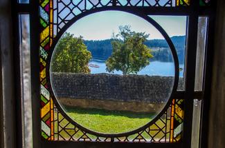 Kirchenfenster, Schluchsee
